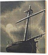 Port Of Haven - Sundown Wood Print