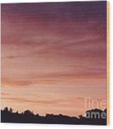 Sunet At Home Wood Print