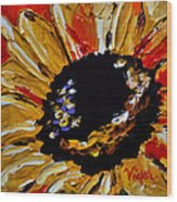 Sunflower 2 Wood Print