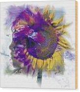 Sunflower Composite Wood Print
