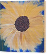 Sunflower Not Sunflower Wood Print