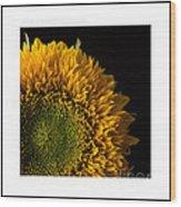 Sunflower Original Signed Mini Wood Print