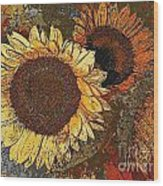Sunflowers 397-08-13 Marucii Wood Print