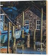 Shem Creek Life Wood Print