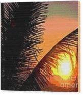 Sunlight - Ile De La Reunion - Reunion Island Wood Print