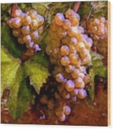Sunny Grapes - Edition 1 Wood Print