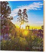 Sunny Morning Wood Print