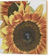 Sunny Pair Wood Print