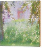 Sunpainting At The Park Wood Print