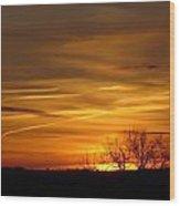 Sunrise 11 Wood Print