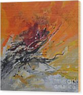 Sunrise - Abstract Wood Print