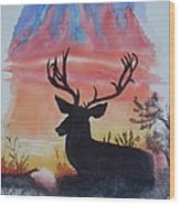 Sunrise Alert  Wood Print