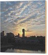 Sunrise Arise Buffalo Ny V1 Wood Print
