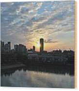 Sunrise Arise Buffalo Ny V2 Wood Print
