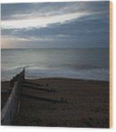 Sunrise At Kingsdown Wood Print