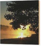 Sunrise At Lake Lanier 006 Wood Print