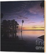 Sunrise At San Jose Del Cabo Wood Print