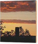 Sunrise At Thornhill Wood Print