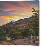 Sunrise At Woodhead Park Wood Print by Robert Bales