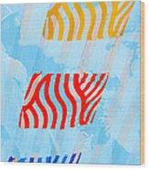 Sunrise B Wood Print