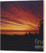 Sunrise Display Wood Print