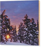 Sunrise Dreams Wood Print by Darren  White