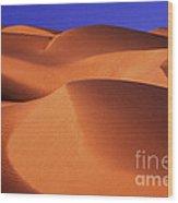 Sunrise Dunes 312 Wood Print