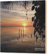 Sunrise Hang Wood Print