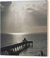 sunrise in Florida Wood Print