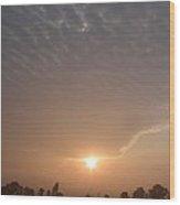 Sunrise In Lancaster Wood Print