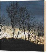 Sunrise In Murrysville Wood Print