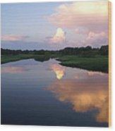 Sunrise In Sarasota Wood Print