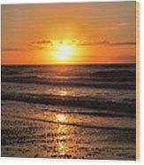 Sunrise In Texas 4 Wood Print