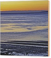 Sunrise Ipswich Bay Wood Print
