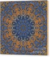 Sunrise Kaleidoscope Wood Print