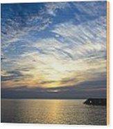 Sunrise Lake Michigan September 7th 2013 005 Wood Print
