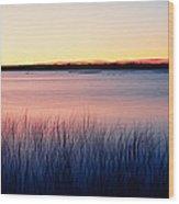 Sunrise Lake Michigan Wi Usa Wood Print