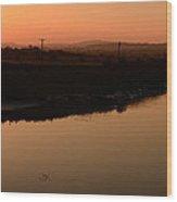 Sunrise Milltown Wood Print