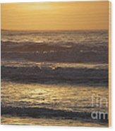 Sunrise Newport Ri Winter 2013 Wood Print