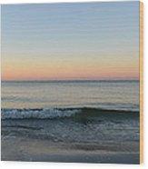 Sunrise On Alys Beach Wood Print