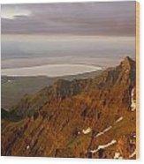 Da5901-sunrise On Steens Mountain Wood Print
