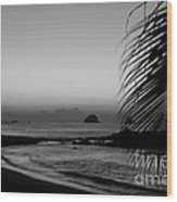 Sunrise On The Costa Chica Wood Print