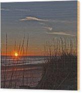 Sunrise Outer Banks Norht Carolina Img_3721 Wood Print