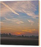 Sunrise Over Bartonsham Wood Print
