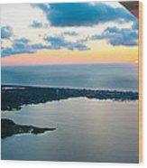 Sunrise Over Dewey Beach Wood Print