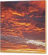 Sunrise Over Ireland Wood Print