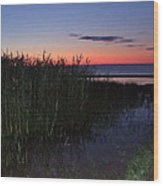 Sunrise Over Lake Huron Wood Print