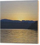 Sunrise Over Lough Eske And The Bluestack Mountains Wood Print