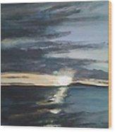 Sunrise Over Siguijor Wood Print