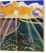 Sunrise Over The Darren Wood Print